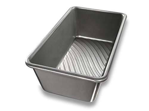 (USA Pan Patriot Pan Bakeware Aluminized Steel One Pound Loaf Pan)