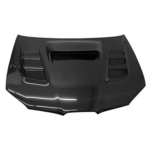 (VIS Racing (VIS-SYA-248) VRS Style Hood Carbon Fiber - Compatible for Subaru WRX 2006-2007 (2006 2007 | 06 07))