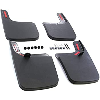 HUSKY 58461 Front Mud Guards Flaps for 17-19 FORD F250 F350 w// NO FENDER FLARES