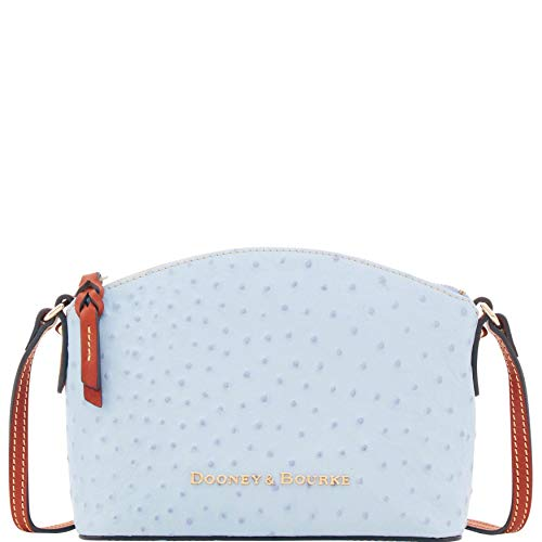 Bourke Ostrich - Dooney & Bourke Ostrich Ruby Crossbody Shoulder Bag
