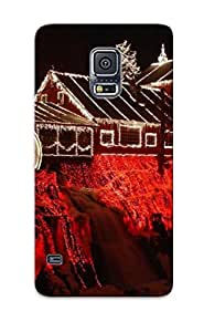 6aedc013764 Faddish Clifton Mill Christmas Case Cover For Galaxy S5 With Design For Christmas Day's Gift