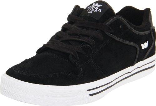 Shoes Supra Vaider Low black suede White Schwarz