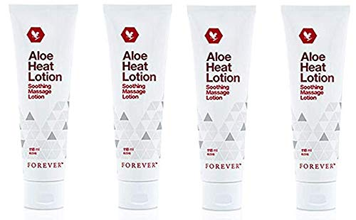 (Aloe Heat Lotion by Forever Living (4-Pack))