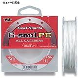 YGKよつあみ リアルスポーツ G-soul PE 100m ホワイト 16LB/1.5号