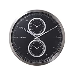 Karlsson Oversized Modern Wall Clock - Unique & Contemporary Big Wall Clock