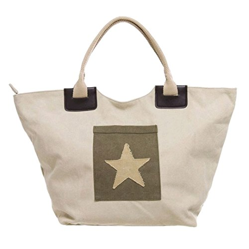 Sacchetto Borsa Patch Star Sand