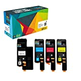 Do It Wiser Compatible Xerox WorkCentre 6027 6025, Phaser 6022 6020 Toner Cartridges (1 Black 106R02759, 1 Cyan 106R02756, 1 Magenta 106R02757, 1 Yellow 106R02758) - 4 Pack