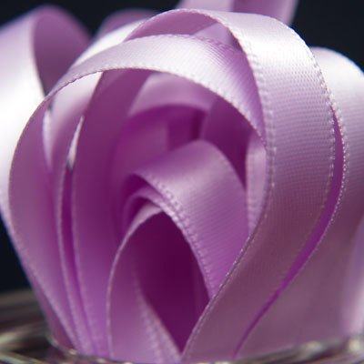 Double Face Satin Ribbon LAVENDER ORCHID 1 1/2 inch x 5 yards