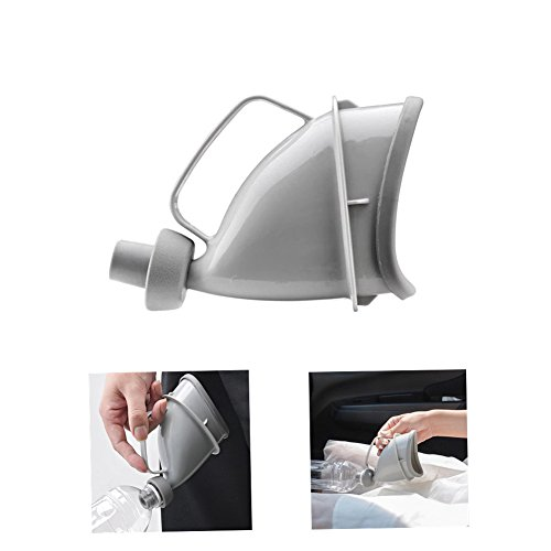 SUMMERDAISY Unisex Female Male Reusable Portable Urinal Device Travel Camping Pee Urinal Toliet Outdoor Emergency Sitting Standing Urination by Summerdaisy