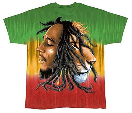 Bob Marley - Profiles Tie-Dye T-Shirt - Medium Bob Marley Tie Dye T-shirt