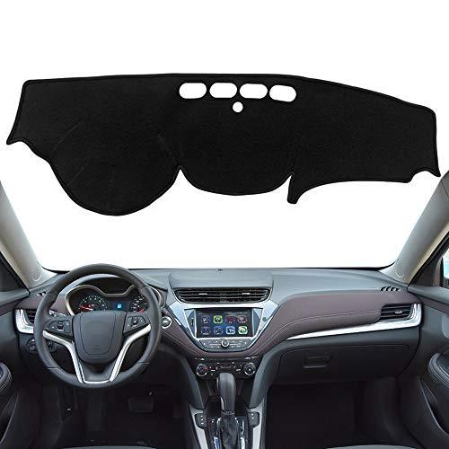 Autoxrun Black Dashboard Dash Protector Dash Mat Sun Cover Pad Fits 2016-2018 Chevrolet Malibu
