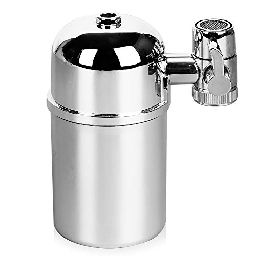 (K Kwokker Faucet Water Filter Drinking Water Purifier,Tap Water Purifier Filter,Water Filtration System for Kitchen & Bath Fixtures,Fit Most Faucets)