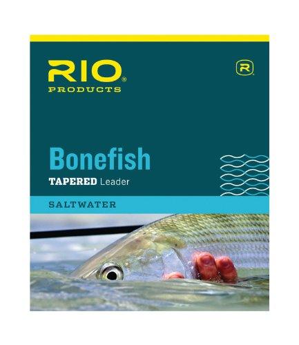 Rio Fly Fishing Bonefish 10′ 10Lb 4.5kg Fishing Leaders, Clear Review