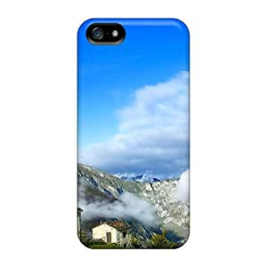 Tpu Case Cover Compatible For Iphone 5/5s/ Hot Case/ Village On The Hills