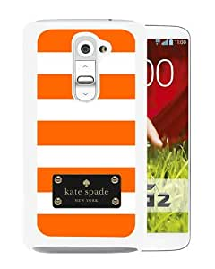 Abstract Design LG G2 Case, Kate Spade 122 White Custom LG G2 Phone Case