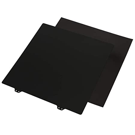 Gazechimp Impresora 3D Placa de Acero de Resorte En Polvo Pei Cara ...