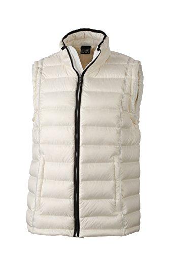 Giacca Daunenweste amp; Quilted Down black Uomo James Men's Bianco white Vest Nicholson off Bq0wZ1wCFx