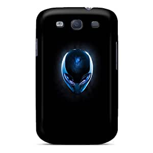Excellent Design Alien Head Case Cover For Galaxy S3