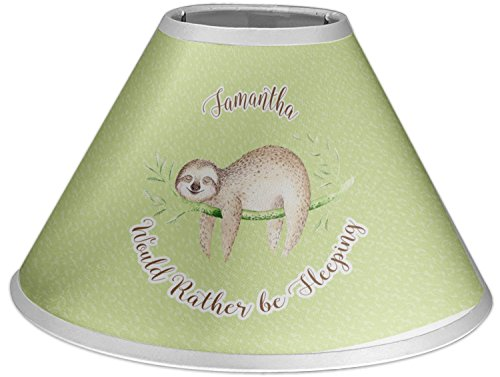 RNK Shops Sloth Coolie Lamp Shade (Personalized) by RNK Shops