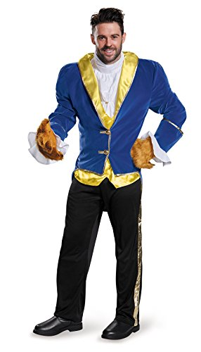 Disguise Men's Beauty and The Beast Prestige Costume,