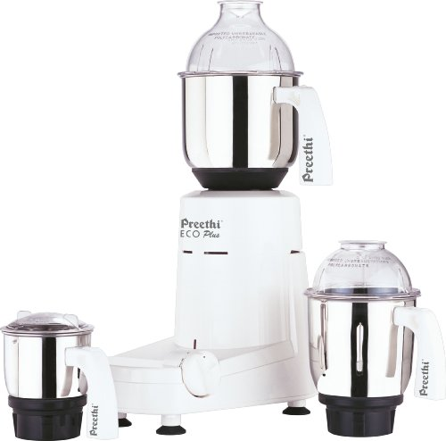 Preethi-Eco-Plus-Mixer-Grinder-110-Volts-Free-Service-Kit-Included