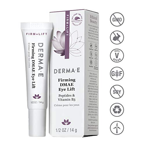 DERMA E Firming DMAE Eye Cream, 0.5oz