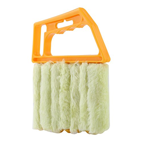 Acogedor 7 Triple Venetian Blind Cleaner Removable, Hand Washable Window Duster for Wet Or Dry Cleaning of Slats