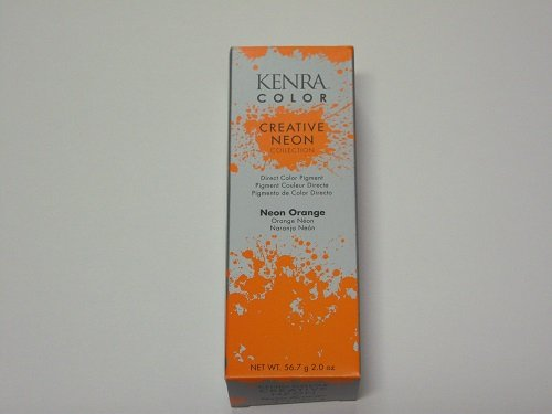 neon orange permanent hair dye - 6