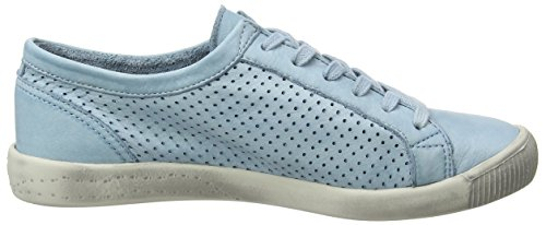 Softinos Damen Ica388sof Sneaker Türkis (blu Pastello)