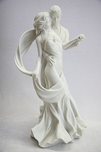 15.5'' Romantic Couple of Dancer Dance Statue Sculpture Figurine By Vittoria Collection Made in Italy by Vittoria Collection (Image #1)