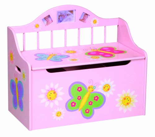 Guidecraft Butterfly Toy Box by Guidecraft