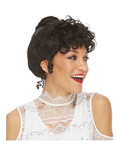 (Women's Gibson Girl Costume Wig (Black))