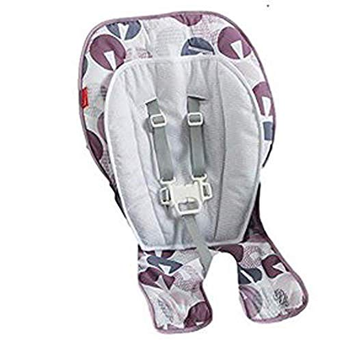 Fisher Price Replacement Seat Pad/Cushion / Cover for SpaceSaver Highchair (FPC43 Multi Gray Pebble)