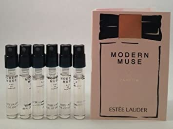 Amazon.com : 6 Estee Lauder Modern Muse EDP Spray Sample Vial 1.5 ...