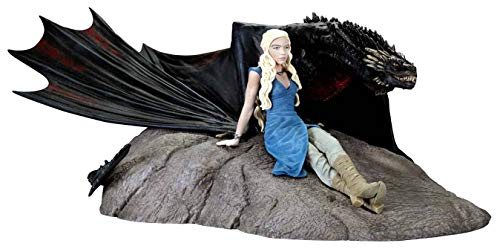 Dark Horse Deluxe Game of Thrones: Daenerys and Drogon Statue ()