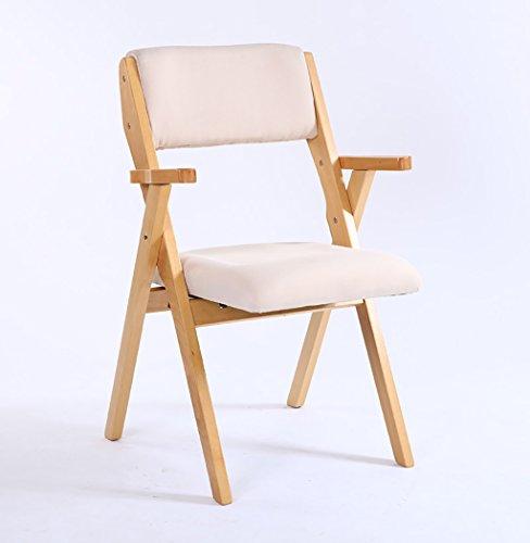 Amazon.com: Wood Folding Chair Solid Wood Folding Chair ...