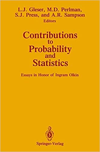 com contributions to probability and statistics essays in  contributions to probability and statistics essays in honor of ingram olkin softcover reprint of the original 1st ed 1989 edition