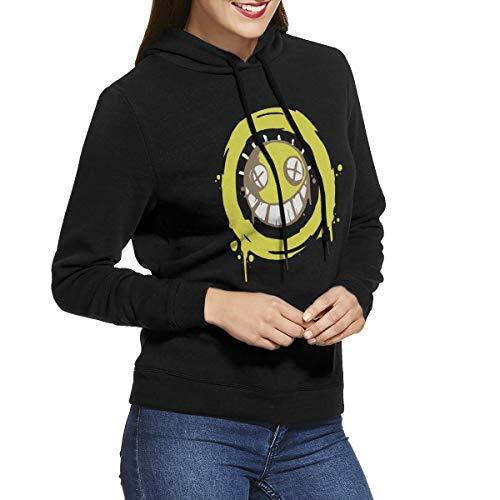 KennedyF Women's Overwatch Junkrat Hoodies Sweater L Black