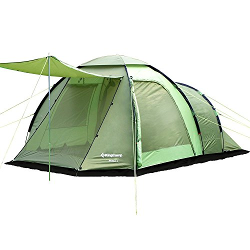 KingCamp 4-10 Person Tent 3-Season Home Premium Luxury Portable Waterproof Outdoor ROMA Extended Dome Shelter for Family Camping, Carry Bag included