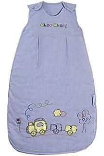 Bebé de Verano Saco de dormir 1 Tog - tren, 70cm/ 0-6