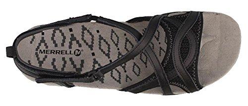 Sandalias De Mujer Merrell Para Mujer, Sandspur Delta Wrap Black