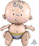 Amscan International 3520201 Sitting Baby Foil Balloon
