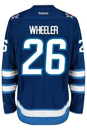 Blake Wheeler Winnipeg Jets Reebok Premier Home Jersey NHL Replica ... d93b7576f765