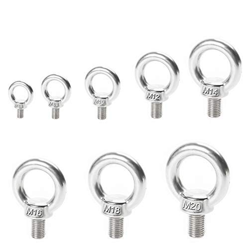 Thread Size M4-0.7 FastenerParts 316 Stainless Steel Shoulder Screw Super Corrosion Resistant