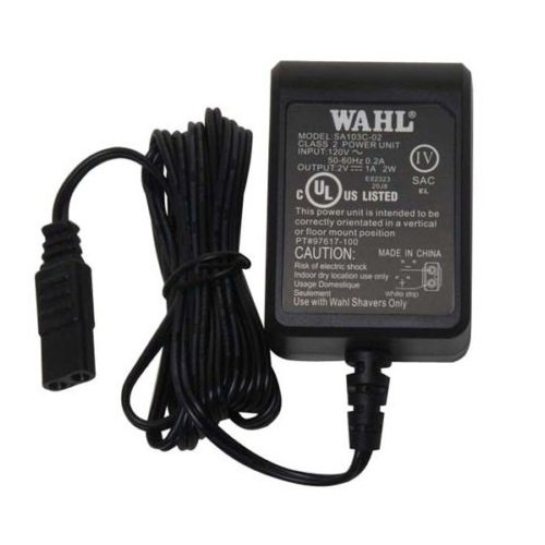 Wahl 5 Star Shaver Replacement Power Cord / Charger Pt. # 97617-100 NEW