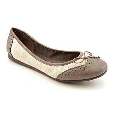 American Rag Blisful Womens Size 6 Nude Fabric Flats Shoes UK 3