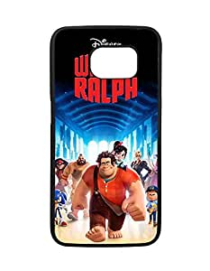 Disney Cartoon Series Phone Fundas/Case - Samsung Galaxy S6 Edge Fundas/Case Wreck it ralph for Man , Vintage Samsung Galaxy S6 Edge Fundas/Case Disney Quotes - Dust Resistance