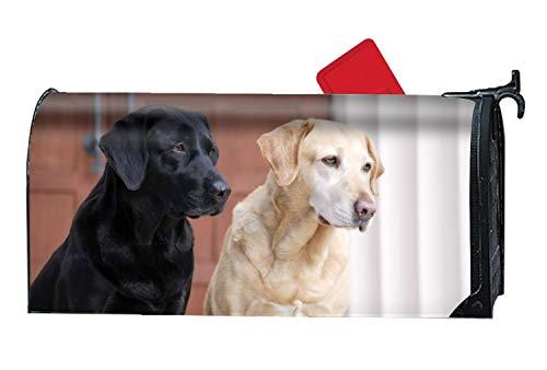 Tymeihao Animal Labrador Retriever Dogs Mailbox Makeover - Magnetic Cover