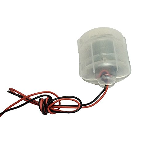 BEMONOC 2pcs Miniature DC Vibration Motor 12V High Speed 6000RPM Massager Toys