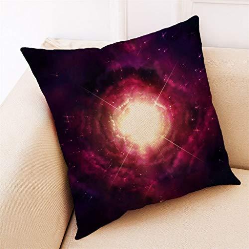 TIANMI Home Decor Cushion Cover Stellar Black Hole Pillowcase Throw Pillow Covers ()